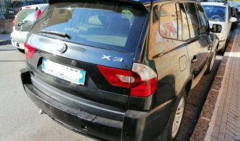 "BMW X3 2.0 D FUTURA ""OUTLET"" full"